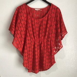 Anthropologie The Addison Story Lunar Cycles Top